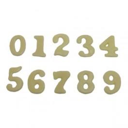Čísla malá - bílá