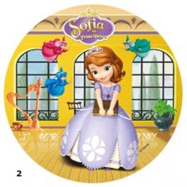 Jedlý terč 21cm - Princezna Sofie
