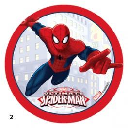 Jedlé terče 14,5cm - Spiderman